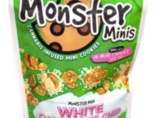"""Monster Minis """"White Chocolate"""" 300mg; 1 for 15"""