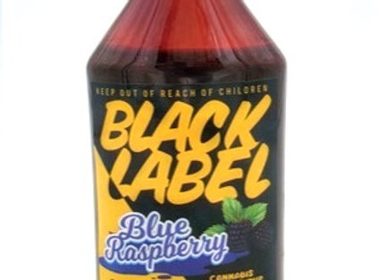 """Black Label """"Blue Raspberry Syrup"""" 1000mg; 1 for 36"""