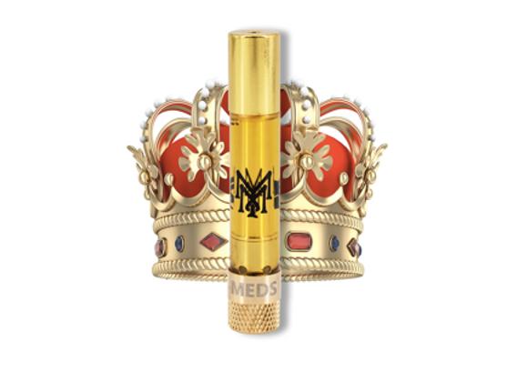 """Muha Meds """"King Louis XVIII"""" indica; 1g for 35"""