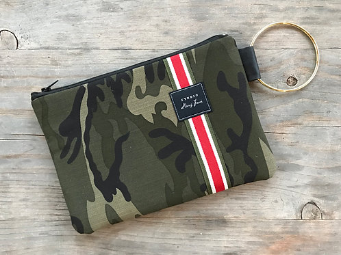 Small Ring Clutch - Camo