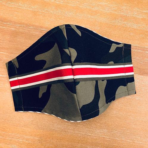Camo ribbon mask