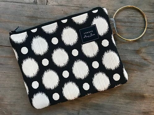Small Ring Clutch - Fancy Dots