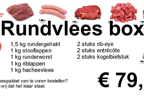 Rundvlees box