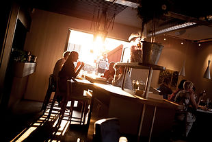 Sommerfest i cafeen