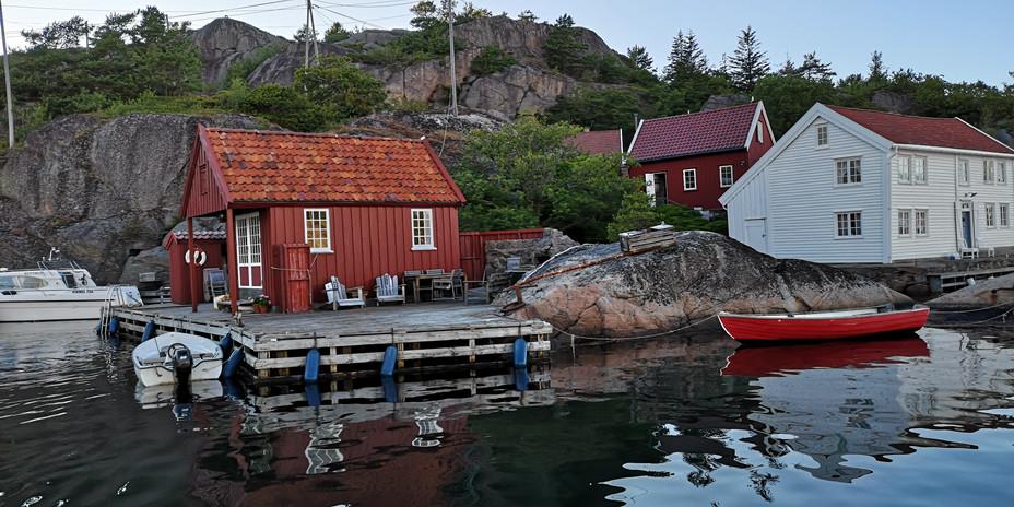 Sjøbu i Ny-Hellesund