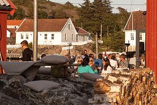 Sommerfest på brygga