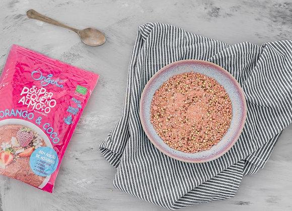 Super Pequeno Almoço Instantâneo Morango e Coco s/glúten