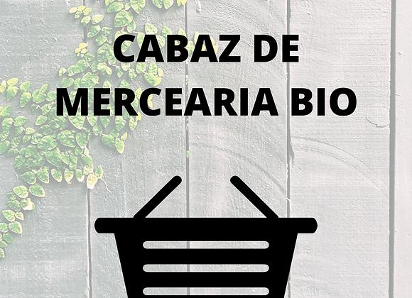 Cabaz de Mercearia Bio Personalizado