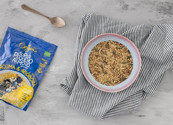 Super Pequeno Almoço Instantâneo Curcuma e Abóbora  s/glúten