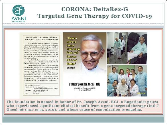 The CORONA Study: Aveni Foundation's New Mission