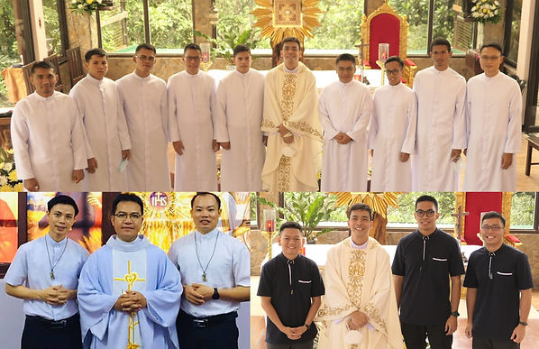First Religious Profession and Acceptance to the Novitiate in the St. Matthew Province