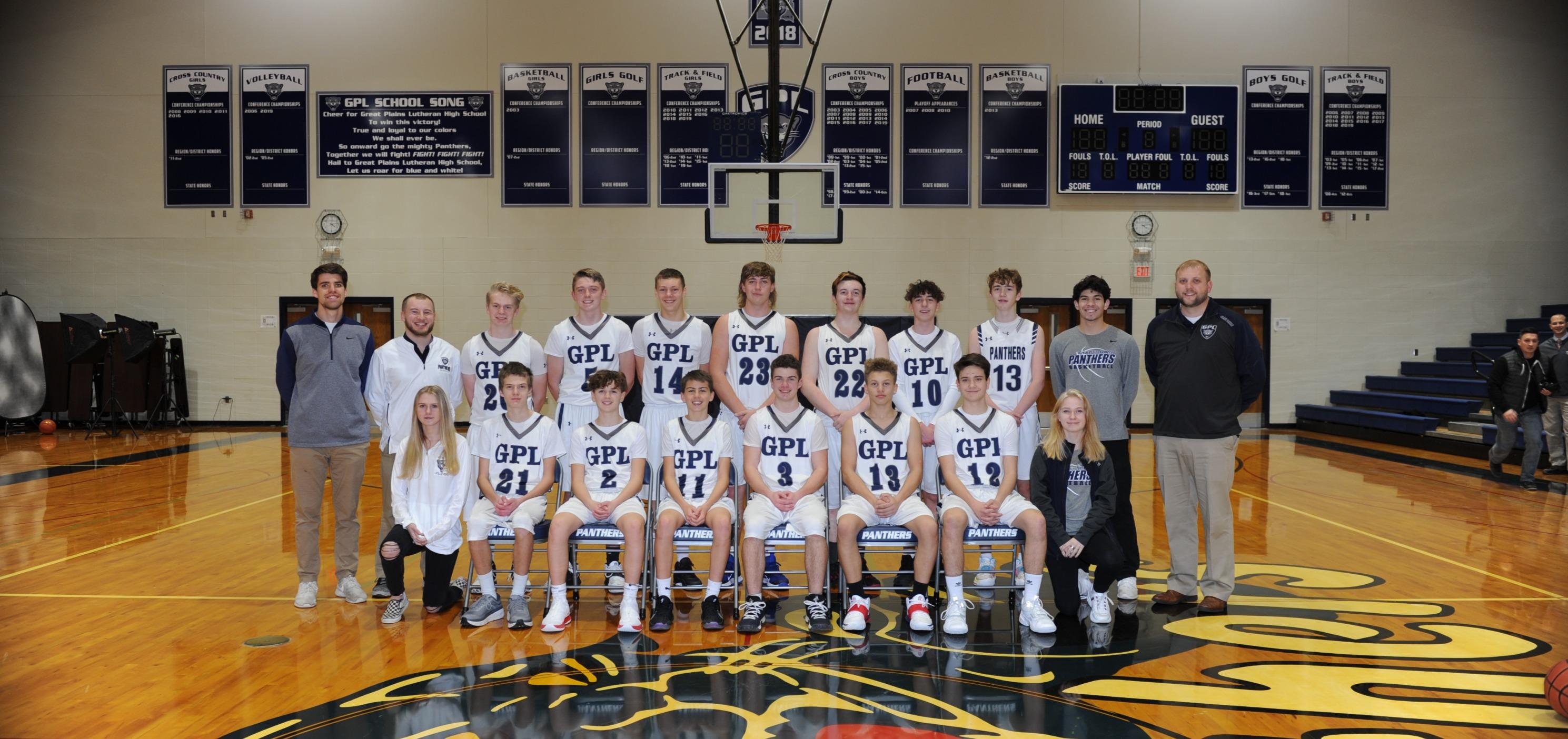 Boys JV Basketball Team