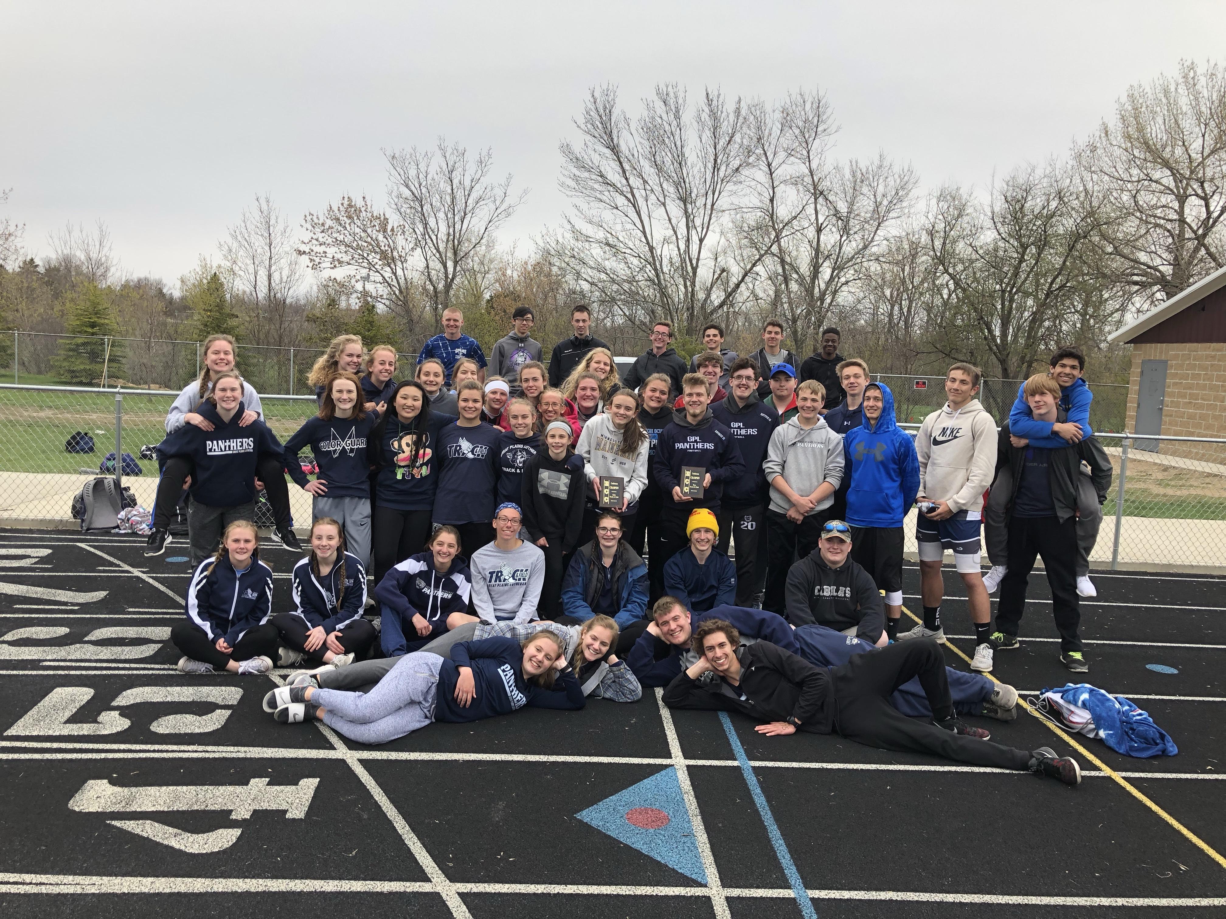 Boys and Girls Track- ECC Champs