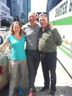 Melissa Aston, André Poulie (Theodora Foundation) and Paul Hooson, 2018