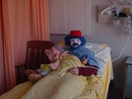 Hubert in hospital