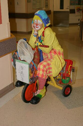 Bunky on his tricycle circa 2005