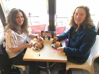 Kathleen and Melissa Aston. First Vienna