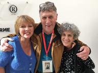 Karen McCarty, Paul Hooson and Deb Kaufman 2018 Healthcare Clowning International Meeting, Vienna, Austria