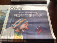 Onri is front page news!  Winnipeg Free Press article