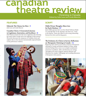 David Langdon featured in the 2020 Canadian Theatre Review