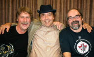 Paul Hooson, Michael Christensen, David Langdon. Canadian Association of Therapeutic Clowns conference in Winnipeg, 2011.