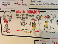 Live sketching of David Langdon's presentation at the 2016 Healthcare Clowning International Meeting in Lisbon, Portugal.