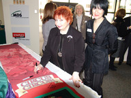 Luba Goy and Wanda Buchanan
