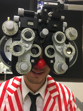 2018 Clown eye exam