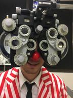 2018 Clown eye exam