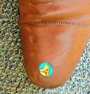 2018 A little pooh on CHEO CEO Alex Munter's shoe