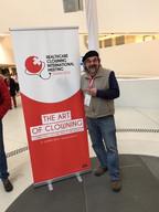 David Langdon 2018 Healthcare Clowning International Meeting, Vienna, Austria