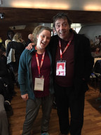 Melissa Aston and Michael Christensen 2018 Healthcare Clowning International Meeting, Vienna, Austria