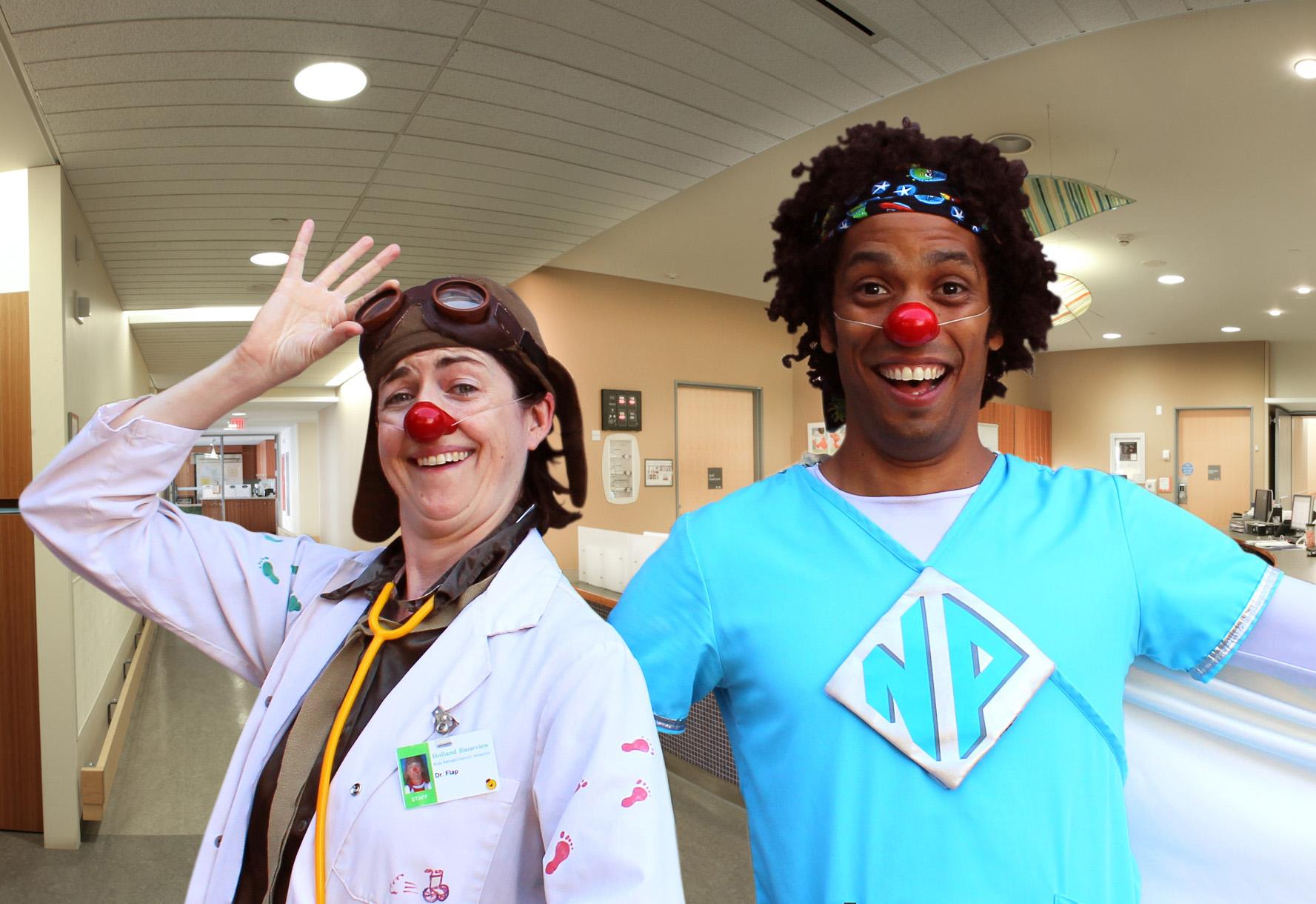 Dr Flap and Nurse Polo (Toronto, ON)