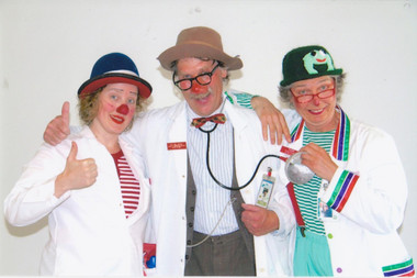 Cosmo, Doc and Fizzie