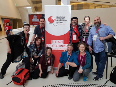 Canada contingent 2018 Healthcare Clowning International Meeting, Vienna, Austria