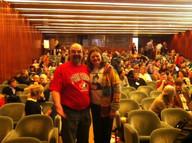 David Langdon and Karen Ridd 2016 Healthcare Clowning International Meeting, Lisbon, Portugal
