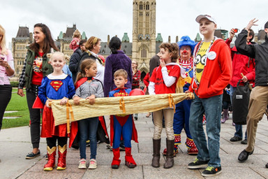 My Heroes on Parliament Hill in Ottawa