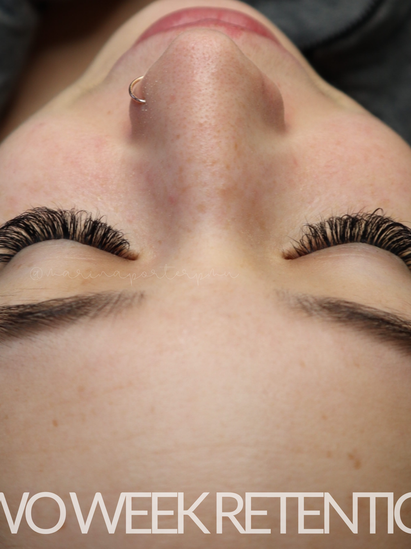 Two Week Retention (Volume Lashes)