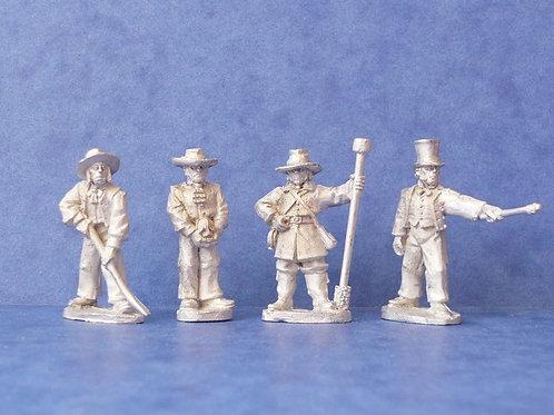 Texian artillery crew