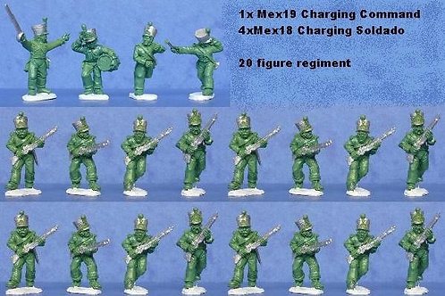 Mexican Regiment Pack Charging