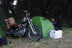 Sporty hustler Camping