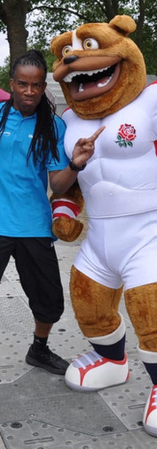 ENGLAND RUGBY MASCOT