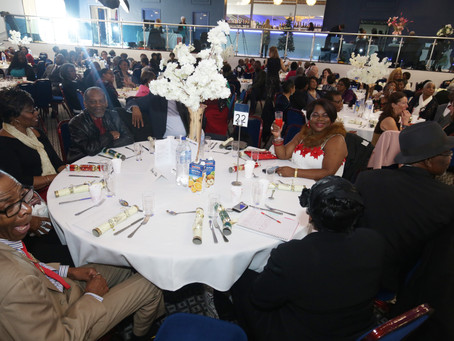 Deputy Minister of Barbados AT the Christmas Ball 2019