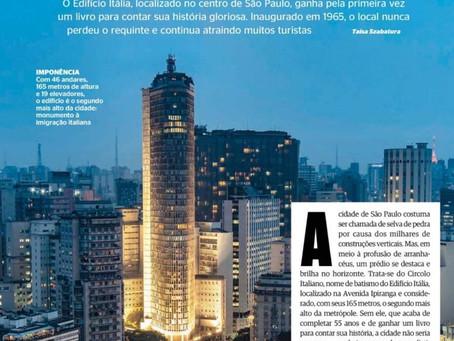 Isto É: Revista traz uma excelente matéria sobre o Edifício Itália