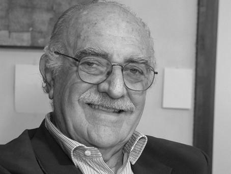 Morreu esta semana o arquiteto Gian Carlo Gasperini, aos 93 anos de idade.