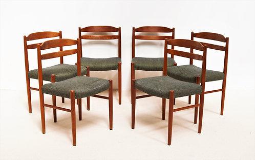 6 chaises Carl Ekstrøm
