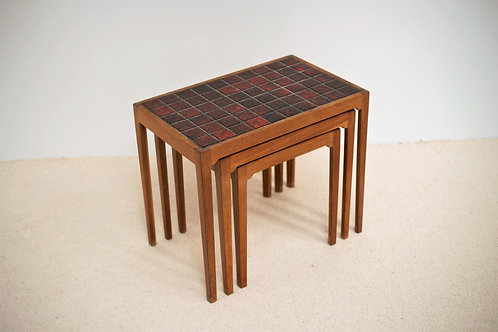Tables Gigognes Mid-Century BR Gelsted
