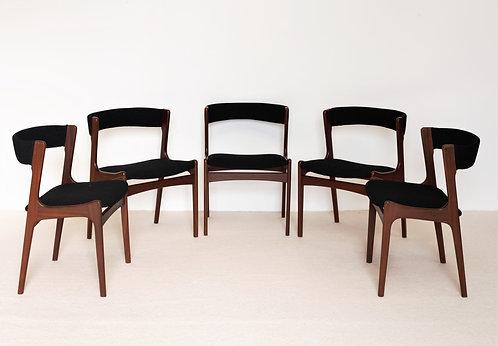 Lot de 5 chaises Vantinge Mobelindustri