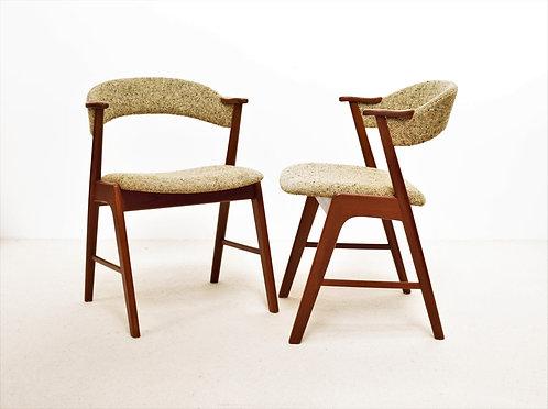 Paire de chaises Korup Stolefabrik