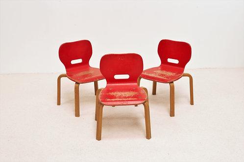 Lot de 3 chaises pour enfants RABO